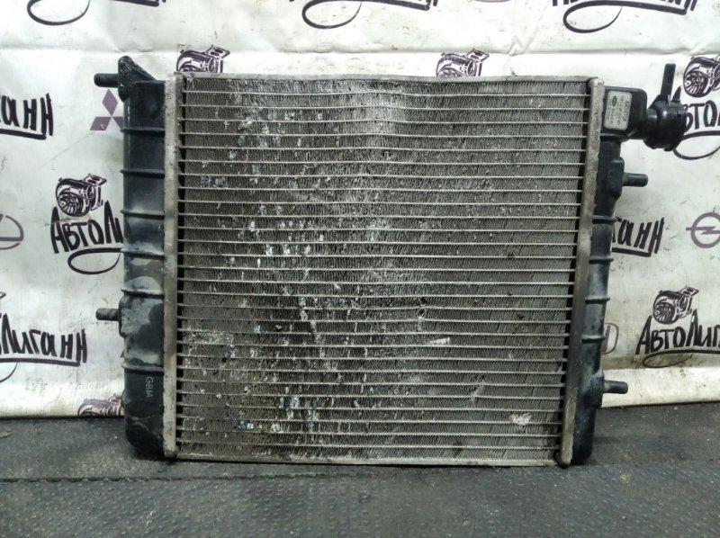Радиатор охлаждения Hyundai Accent 1.5 2011 (б/у)