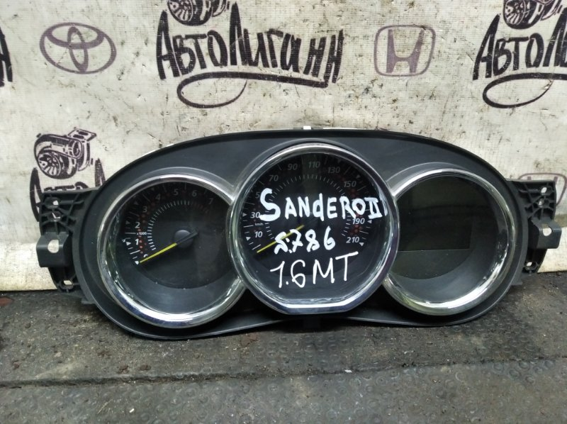 Щиток приборов Renault Sandero 2 K7MA812 2017 (б/у)
