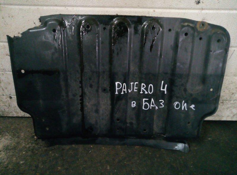 Защита двигателя Mitsubishi Pajero 4 6G72 2011 (б/у)