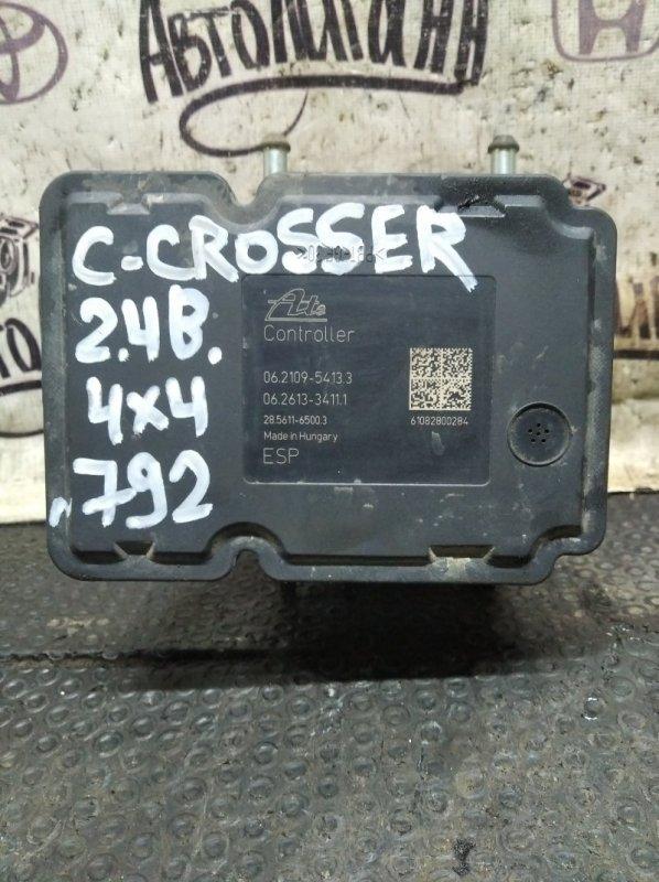 Блок abs Citroen C-Crosser 4B12 2010 (б/у)
