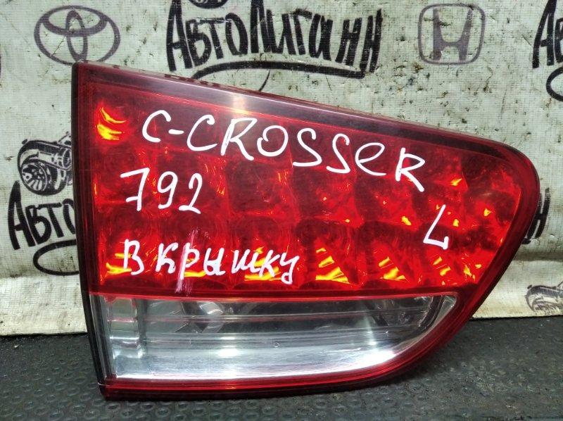 Фонарь Citroen C-Crosser 4B12 2010 задний левый (б/у)