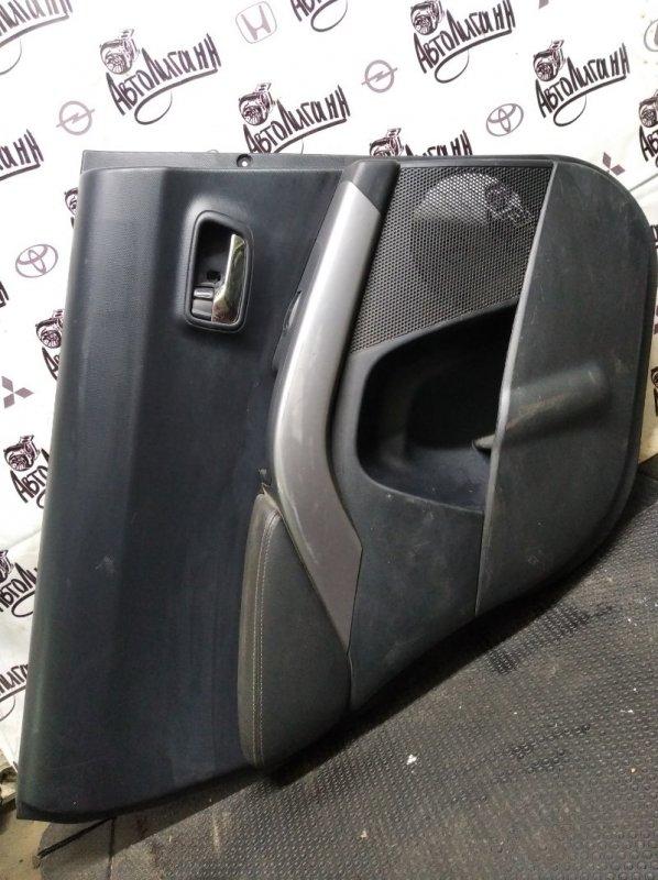 Обшивка двери Citroen C-Crosser 4B12 2010 задняя левая (б/у)