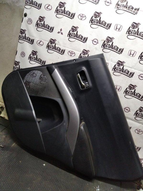 Обшивка двери Citroen C-Crosser 4B12 2010 задняя правая (б/у)
