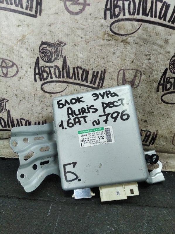 Блок управления эур Toyota Auris 1ZR 2011 (б/у)