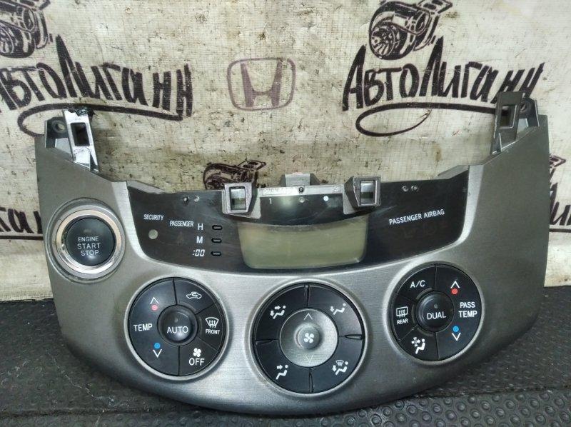 Блок управления климат-контролем Toyota Rav 4 Xa 30 3ZR 2012 (б/у)