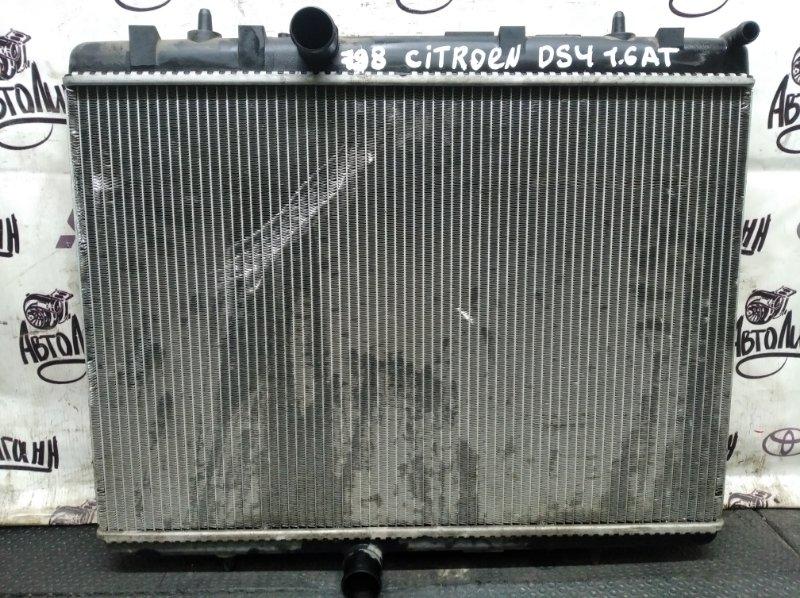 Радиатор охлаждения Citroen Ds4 EP6CDTMD 2013 (б/у)