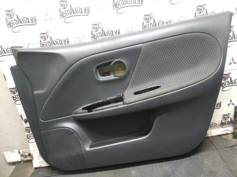 Обшивка двери Nissan Note HR16 2007 передняя правая (б/у)