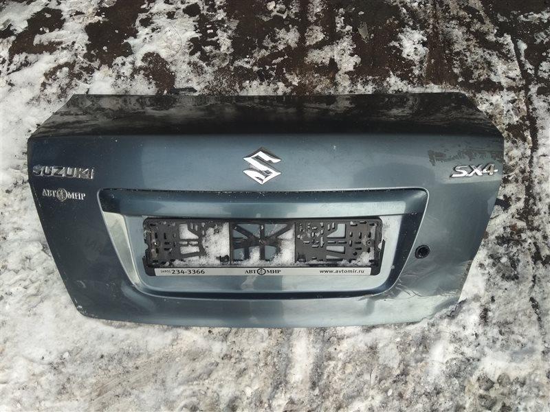 Крышка багажника Suzuki Sx 4 СЕДАН 2008 (б/у)