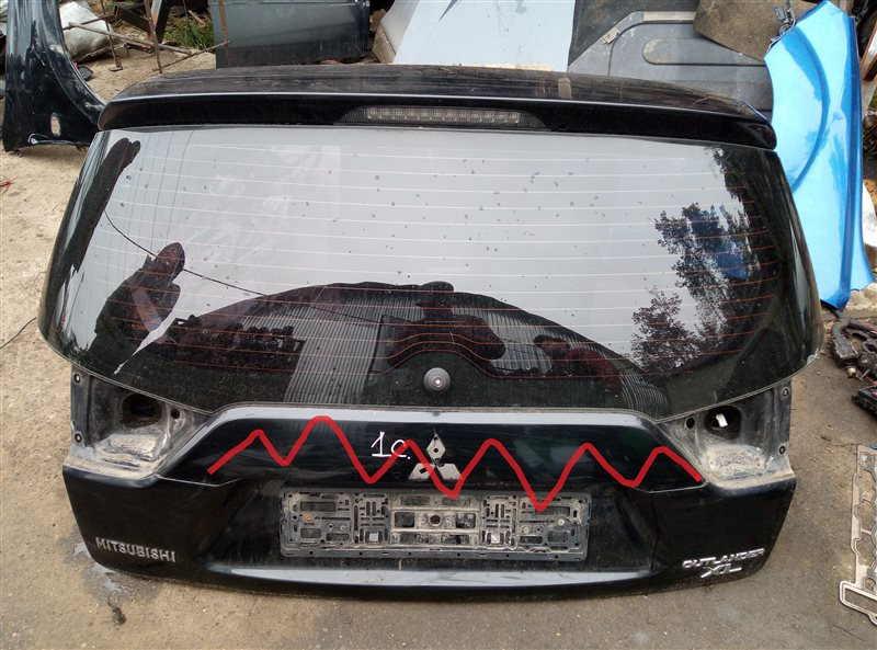 Крышка багажника Mitsubishi Outlander Xl 2010 (б/у)