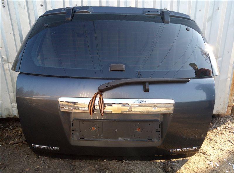 Крышка багажника Chevrolet Captiva 2009 (б/у)