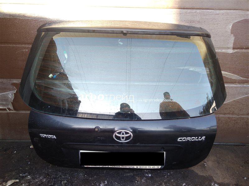 Крышка багажника Toyota Corolla 120 ХЭТЧБЕК 2005 (б/у)