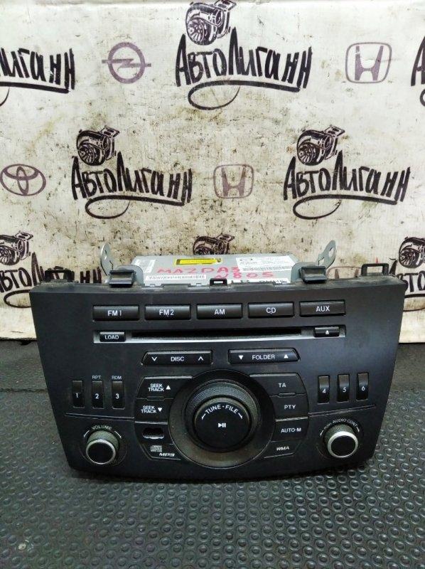 Магнитола Mazda 3 СЕДАН Z6 2011 (б/у)