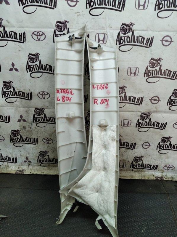 Обшивка стойки лобового стекла Nissan X-Trail MR20 2011 (б/у)