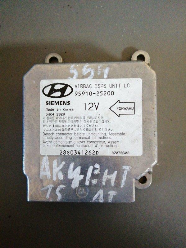 Блок srs Hyundai Accent 2008 (б/у)