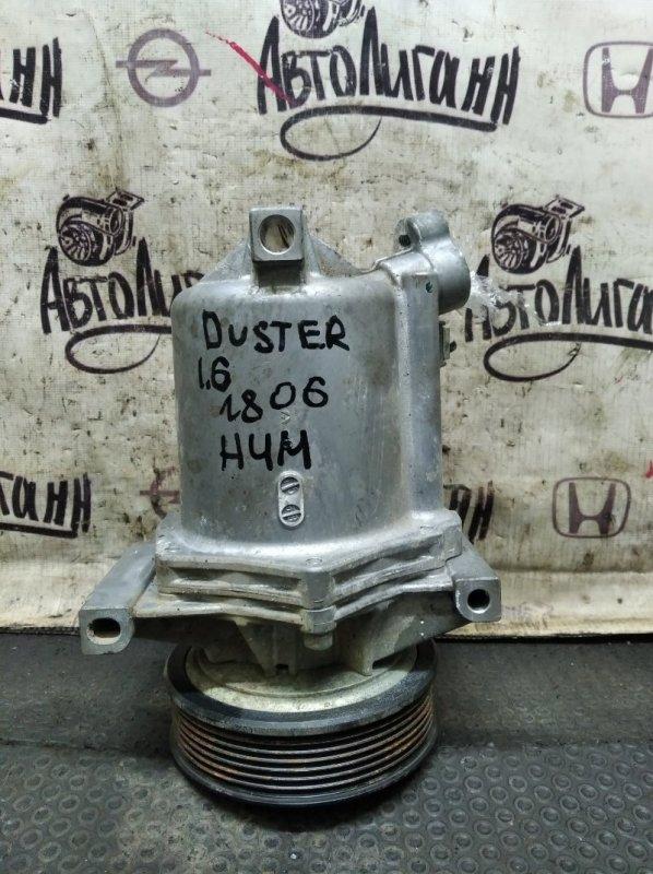 Компрессор кондиционера Renault Duster H4MD430 2016 (б/у)