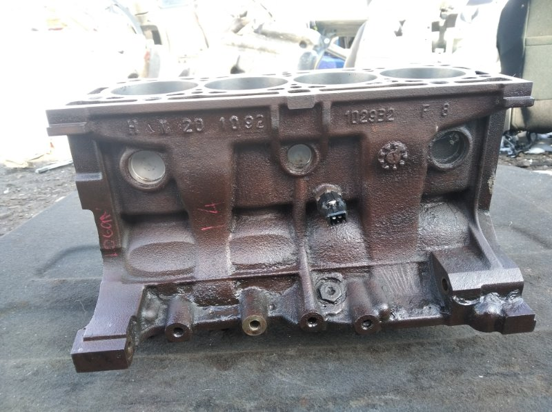 Блок цилиндров Renault Logan 1.4 (б/у)