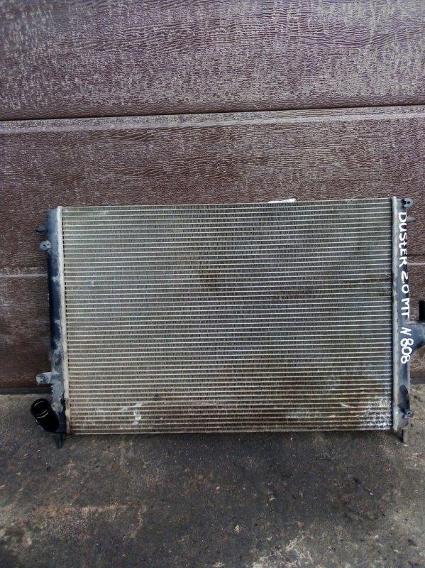Радиатор охлаждения Renault Duster F4RA400 2012 (б/у)