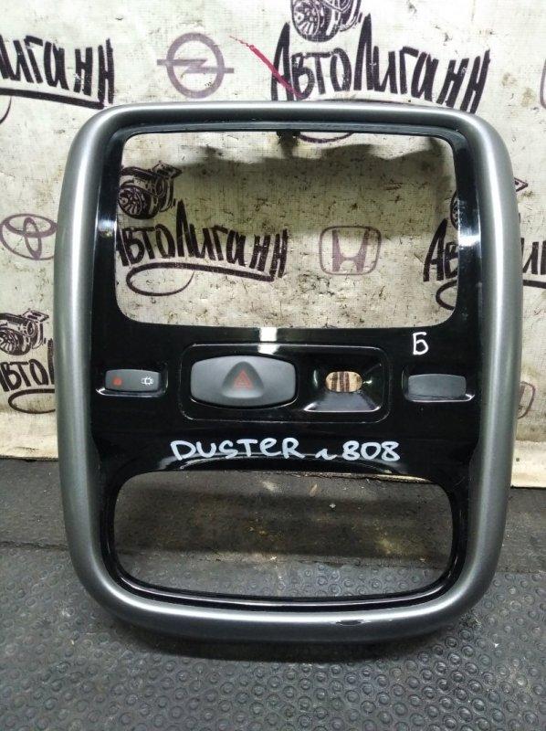 Рамка магнитолы Renault Duster F4RA400 2012 (б/у)