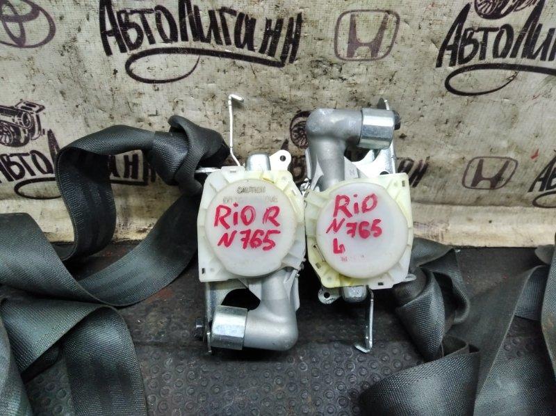Ремень безопасности Kia Rio СЕДАН G4FC 2011 передний (б/у)