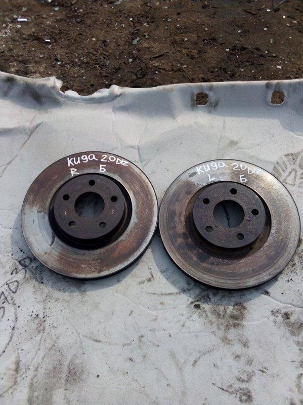 Тормозной диск Ford Kuga UFDA 2012 передний (б/у)