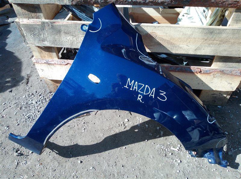 Крыло Mazda 3 СЕДАН Z6 2011 правое (б/у)