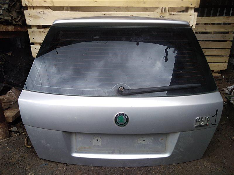 Крышка багажника Skoda Fabia 1 2002 (б/у)