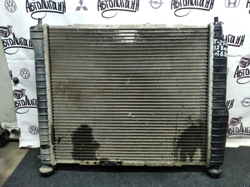 Радиатор охлаждения Chevrolet Aveo T 250 B12S1 2008 (б/у)