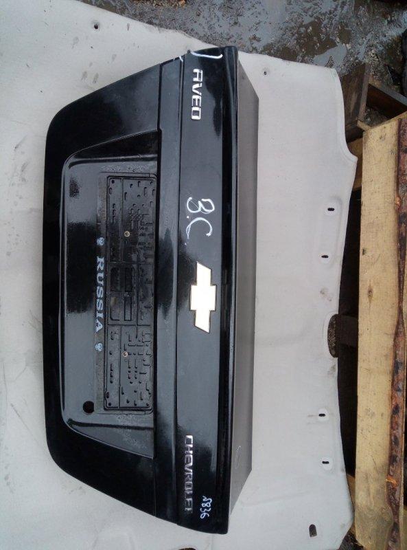 Крышка багажника Chevrolet Aveo T 250 B12S1 2008 (б/у)