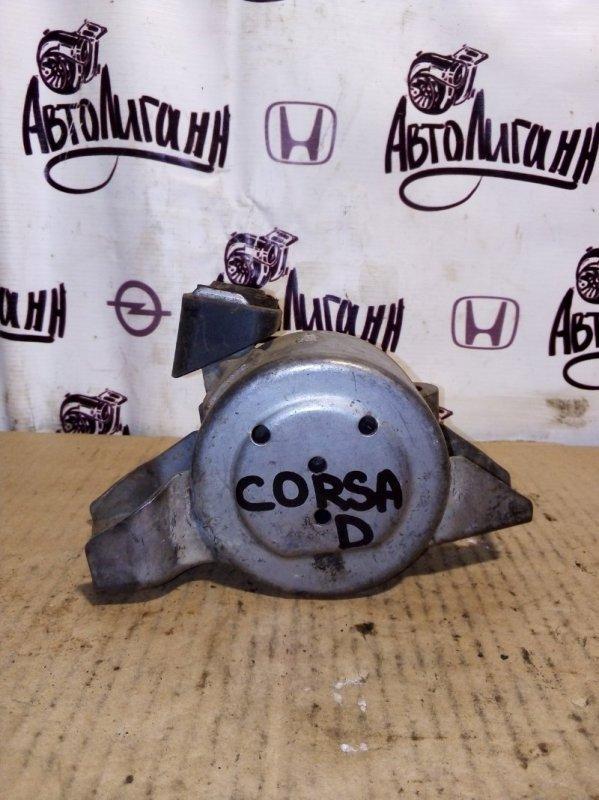 Подушка двигателя Opel Corsa D 2006 правая (б/у)