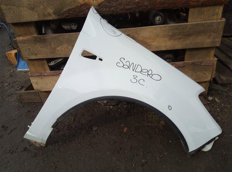 Крыло Renault Sandero K7JA710 2010 правое (б/у)