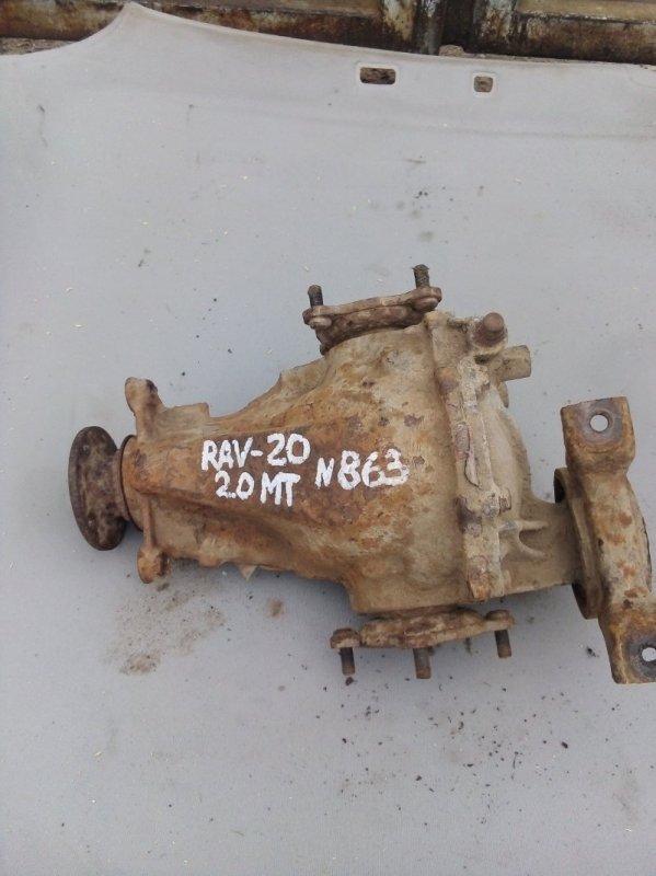 Редуктор Toyota Rav 4 Xa 20 1AZFE 2001 задний (б/у)