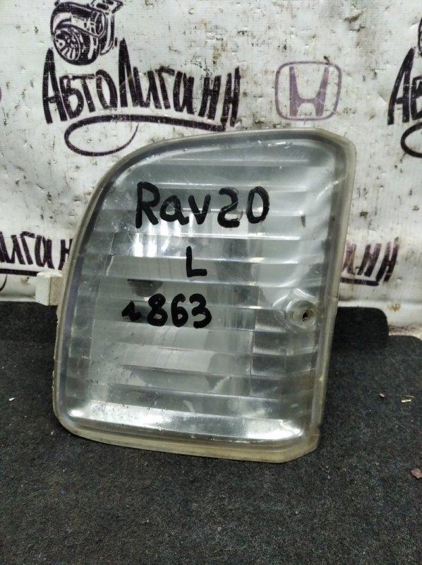 Фара противотуманная Toyota Rav 4 Xa 20 1AZFE 2001 передняя левая (б/у)