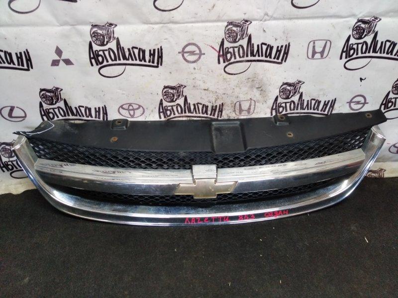 Решетка радиатора Chevrolet Lacetti СЕДАН F14D3 2012 передняя (б/у)
