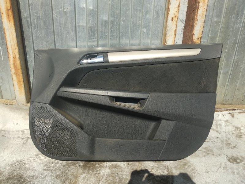 Обшивка двери Opel Astra H СЕДАН Z16XER 2008 передняя правая (б/у)