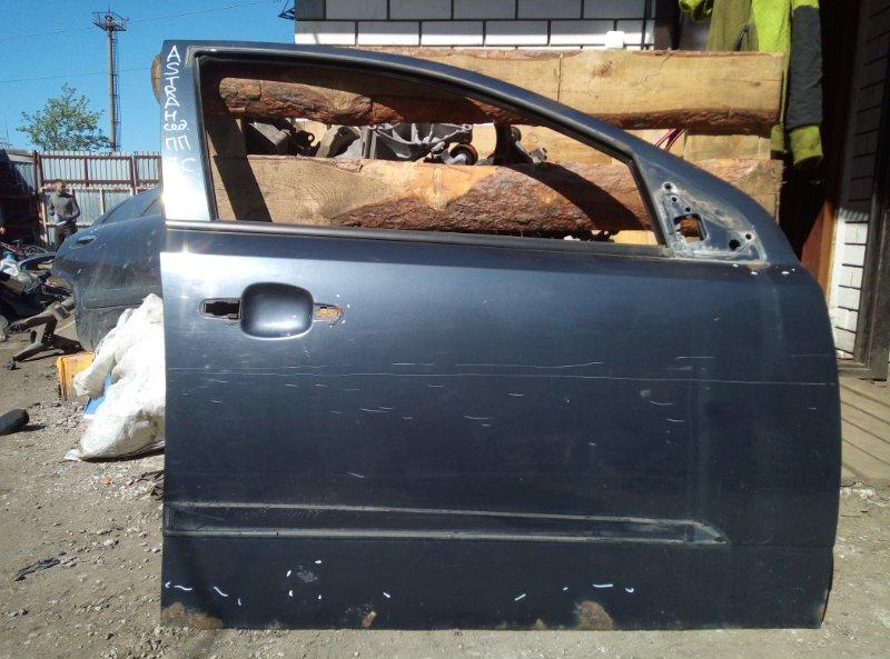 Дверь Opel Astra H СЕДАН Z16XER 2008 передняя правая (б/у)