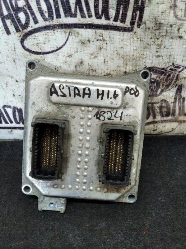 Блок управления двигателем Opel Astra H СЕДАН Z16XER 2008 (б/у)