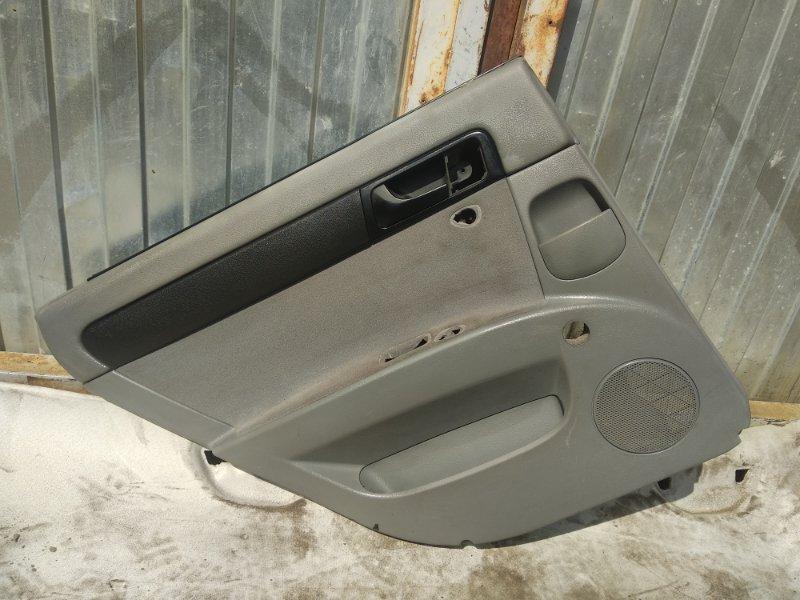 Обшивка двери Chevrolet Lacetti СЕДАН F14D3 2012 задняя левая (б/у)