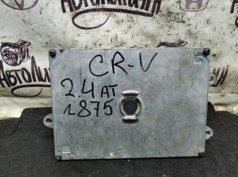 Блок управления двигателем Honda Cr-V K24Z4 2008 (б/у)