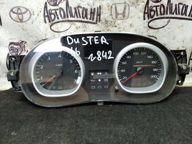 Щиток приборов Renault Duster K4M606 2013 (б/у)