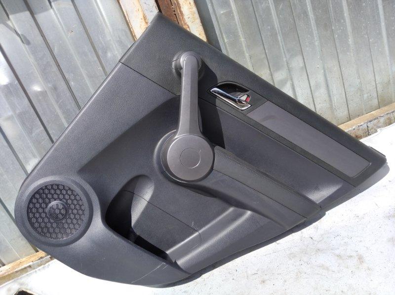 Обшивка двери Honda Cr-V K24Z4 2008 задняя правая (б/у)