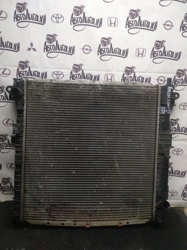 Радиатор охлаждения Ssang Yong Kyron D20DT 2010 (б/у)