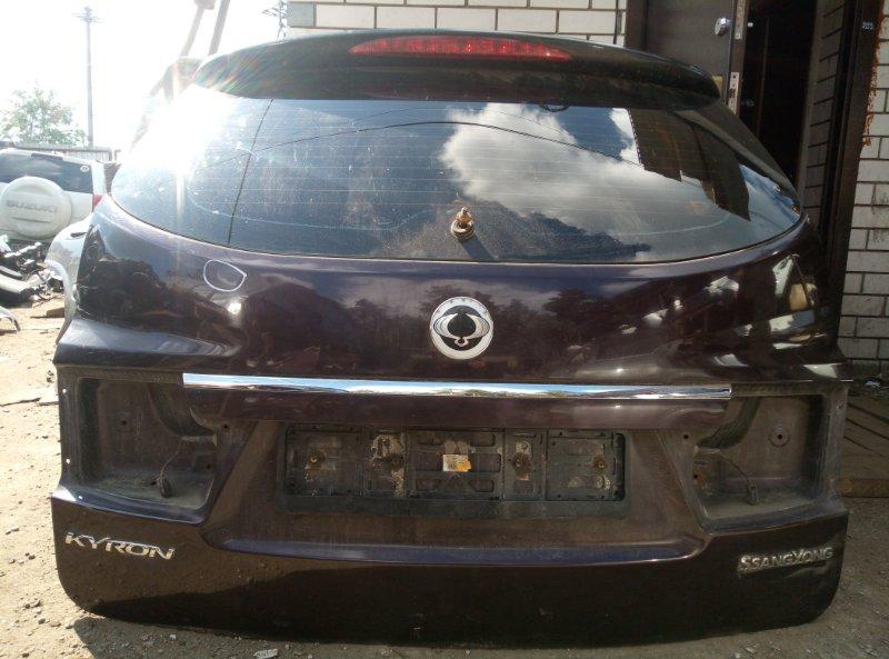 Крышка багажника Ssang Yong Kyron D20DT 2010 (б/у)