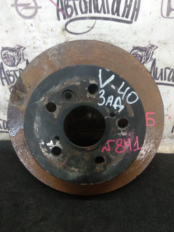 Тормозной диск Toyota Camry V-40 2AZ 2008 задний (б/у)