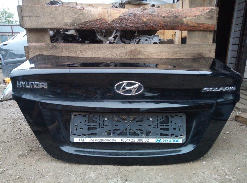 Крышка багажника Hyundai Solaris СЕДАН G4FC 2013 (б/у)