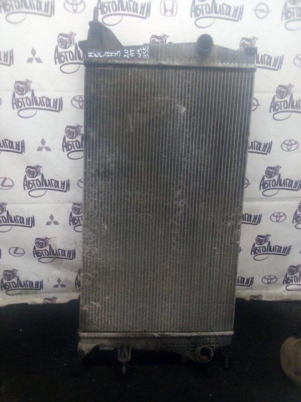 Радиатор охлаждения Renault Megane 3 КУПЕ M4RF713 2010 (б/у)