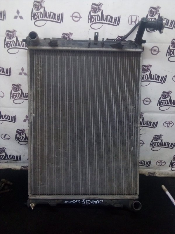Радиатор охлаждения Kia Ceed ХЭТЧБЕК G4FC 2007 (б/у)