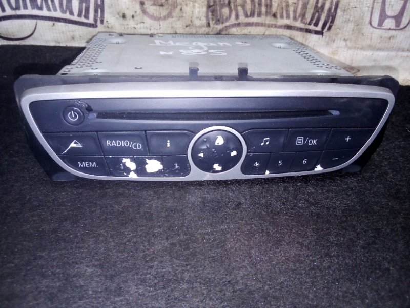 Магнитола Renault Megane 3 КУПЕ M4RF713 2010 (б/у)