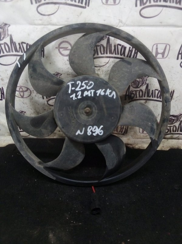 Вентилятор радиатора Chevrolet Aveo T 250 B12D1 2009 (б/у)
