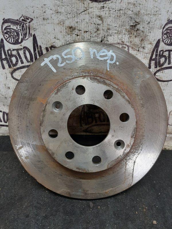 Тормозной диск Chevrolet Aveo T 250 B12D1 2009 (б/у)