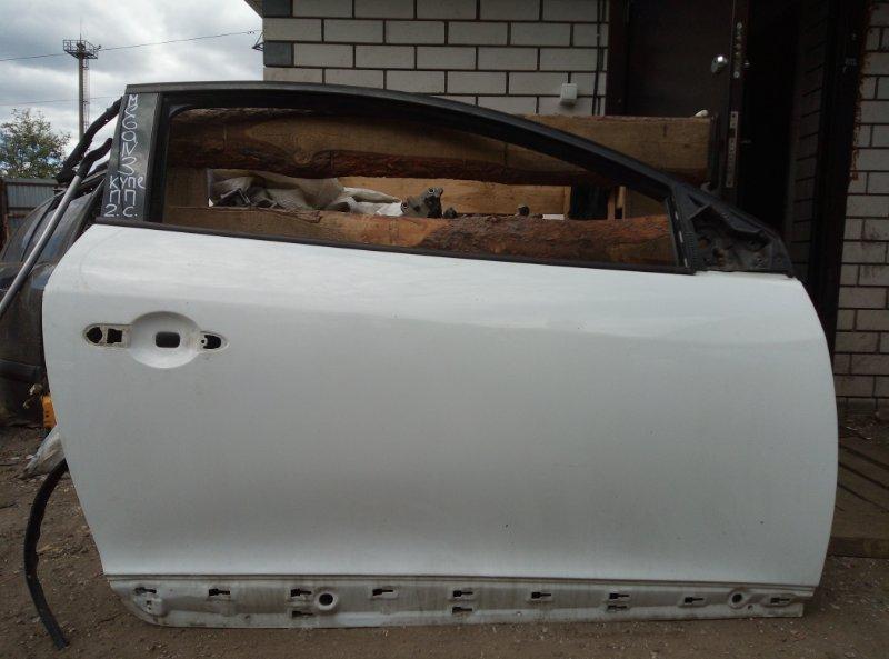 Дверь Renault Megane 3 КУПЕ M4RF713 2010 передняя правая (б/у)